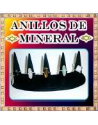 Anillos en mineral